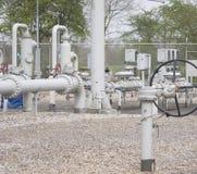 Distribuzione del gas Fotografia Stock Libera da Diritti