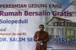 DISTRIBUZIONE DI BENESSERE SOCIALE DELL'INDONESIA Fotografia Stock Libera da Diritti