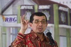DISTRIBUZIONE DI BENESSERE SOCIALE DELL'INDONESIA Immagini Stock