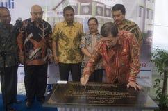 DISTRIBUZIONE DI BENESSERE SOCIALE DELL'INDONESIA Fotografie Stock