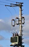 Distribuzione di elettricità fotografia stock libera da diritti