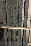 Distribuzione elettrica busway/busduct immagini stock