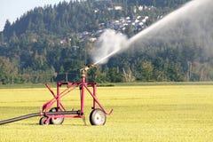 Distribuzione industriale ad alta pressione di irrigazione Fotografie Stock