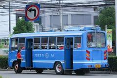 distric公共汽车路线Chiangmai和的煤斗 库存图片