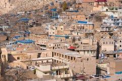 Distric velho do Curdistão de Akre Aqrah de Iraque Foto de Stock Royalty Free