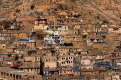 Distric velho do Curdistão de Akre Aqrah de Iraque Imagens de Stock