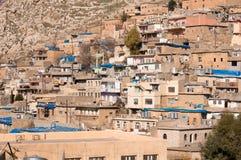 Distric velho do Curdistão de Akre Aqrah de Iraque Fotos de Stock