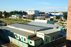 District#4 industriel images libres de droits