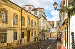 District of Alfama in Lisbon Stock Image