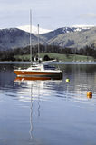District anglais de lac de lacs lake image libre de droits