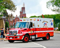District of Columbia Fire and EMS Unit Stock Image