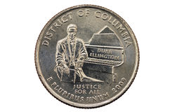 District of Columbia Quarter Stock Photography