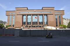 District Court Buildin,Chengdu,China. royalty free stock photography