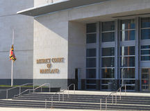 District Court Building Royalty Free Stock Images