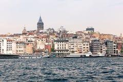 District de Beyoglu à Istanbul Image stock