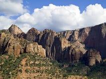District de gorges de Kolob de Zion NP, Utah images stock