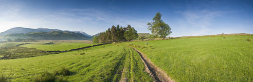 District de lac, Cumbria, R-U Photo stock
