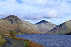 District de lac Scafell Pike Image stock