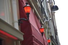 District de lumière rouge photographie stock libre de droits