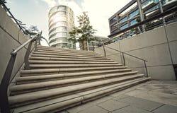 District de port de Hambourg, Allemagne Images libres de droits
