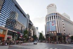 District de Shibuya à Tokyo, Japon Photos stock