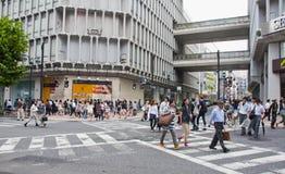 District de Shibuya à Tokyo, Japon Photos libres de droits