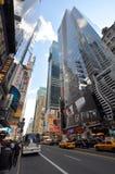 District de théâtre, Manhattan, New York City Photographie stock