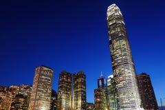 District des affaires central en Hong Kong photo stock