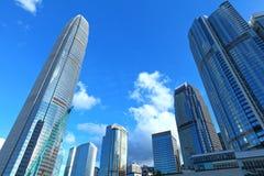 District des affaires central en Hong Kong photos stock