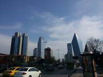 District des affaires d'Istanbul Image stock