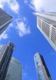 District des affaires de Singapour Images libres de droits