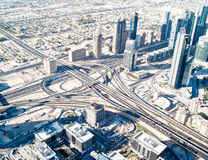 District of Dubai Stock Image