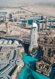 District of Dubai Stock Photography
