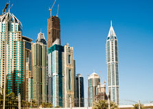 District of Dubai Royalty Free Stock Images