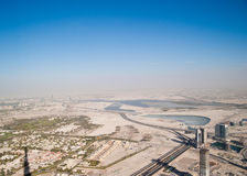 District of Dubai Stock Photo