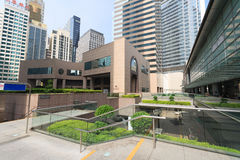District Exchange Square in Hong Kong Royalty Free Stock Photos