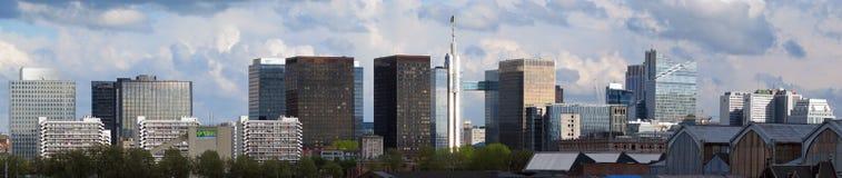 District financier à Bruxelles (Belgique) Photo libre de droits