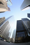 District financier de Toronto Photos stock