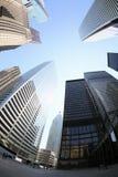 District financier de Toronto Photos stock
