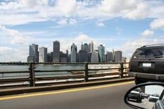 District financier New York image libre de droits