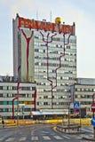 District Heating Plant in Vienna designed by Friedensreich Hundertwasser Stock Photography
