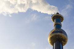 District heating Vienna Stock Photography