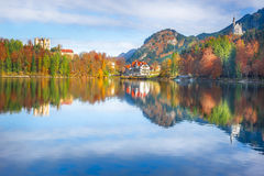 District of Hohenschwangau and its castles royalty free stock photography