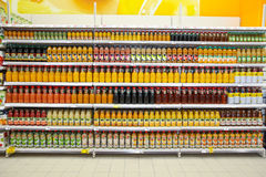 District of juices Royalty Free Stock Images