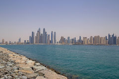 District Marina in Dubai Stock Photography