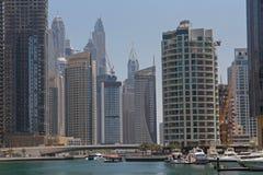 District Marina in Dubai Stock Photo