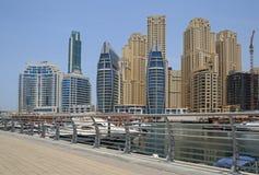 District Marina in Dubai Stock Image