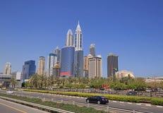 District Marina in Dubai Royalty Free Stock Photos
