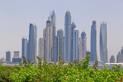 District Marina in Dubai Royalty Free Stock Image
