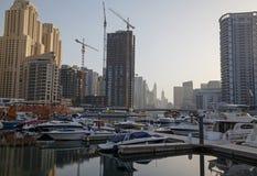 District Marina in Dubai Royalty Free Stock Photo